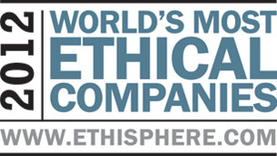 We're one of the world's most ethical companies