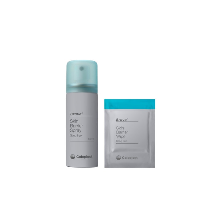 Brava® Skin Barrier Spray and Wipes