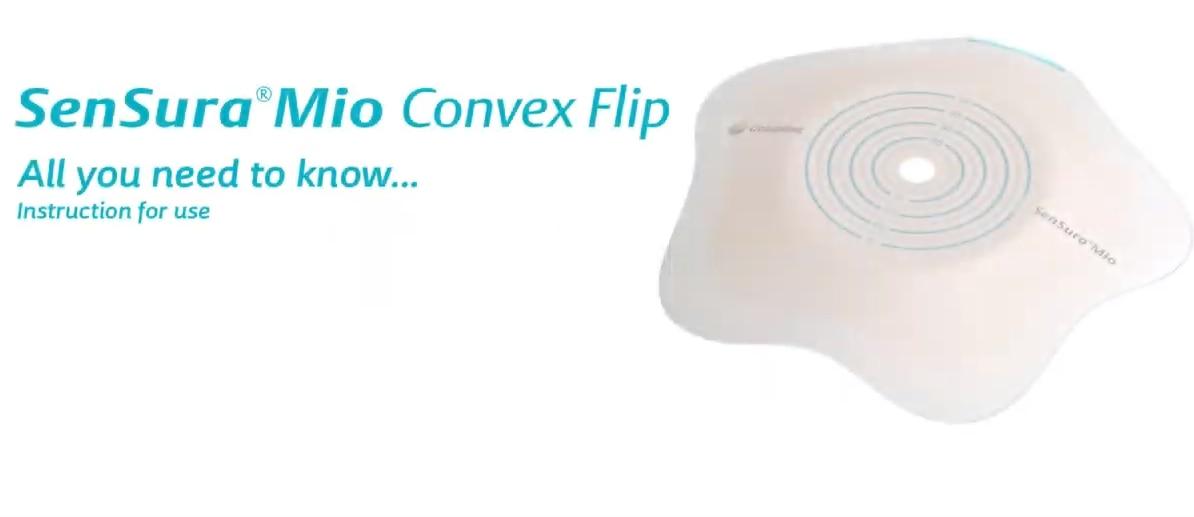 SenSura Mio Convex Flip 2-piece click
