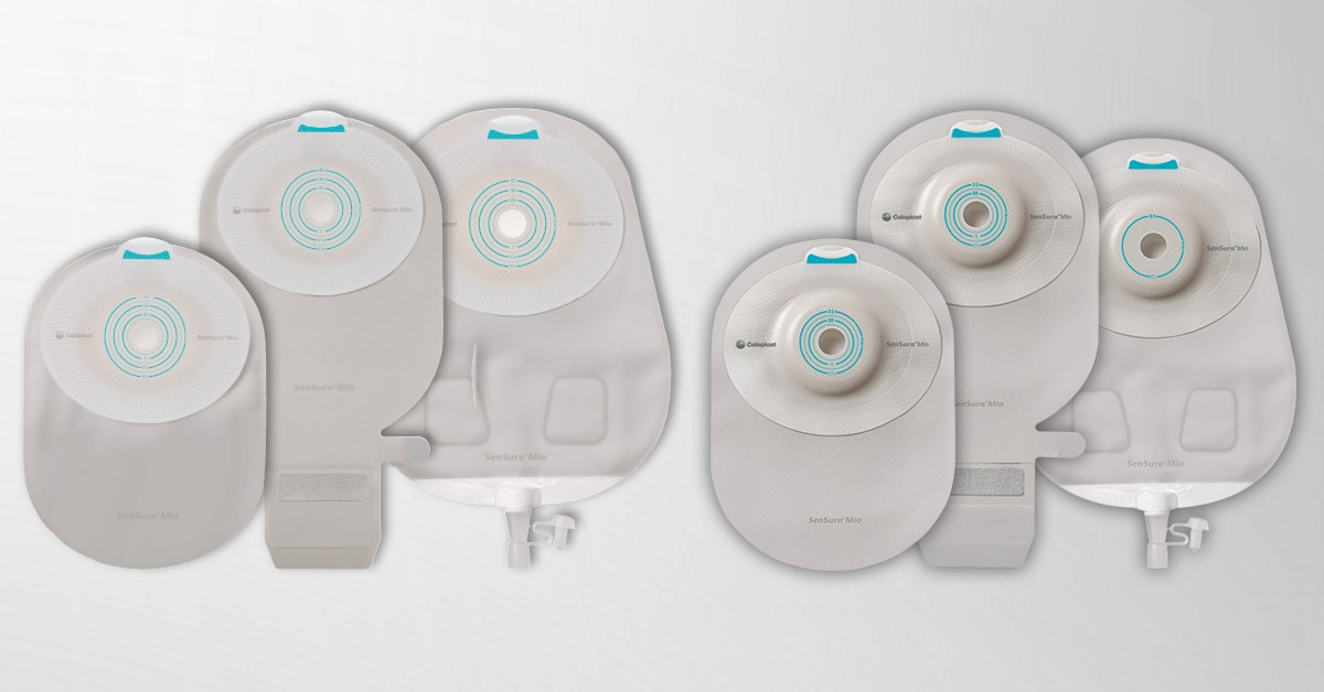 Each SenSura®  Mio Convex features elastic adhesive, a unique pre-filter and a neutral-colored pouch for added discretion.
